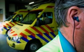 Ambulancediensten gaan levensreddend sms'en