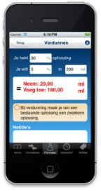 De nieuwe Nursing Calculator!